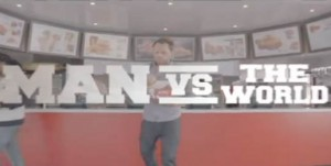 "KFC's ""Man vs Word"" - voiced by Gord Laws"