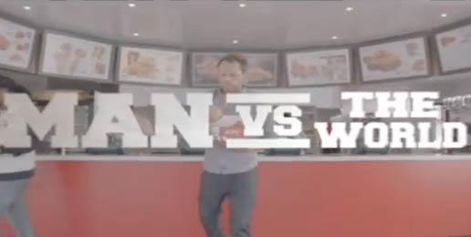 "Gord Laws' Voice-overs: KFC's ""Man vs World"" ads"