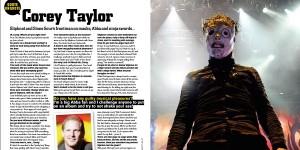 Corey Taylor FHM Q&A by Gord Laws