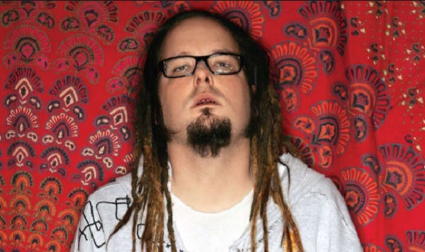 Jonathan Davis from Korn