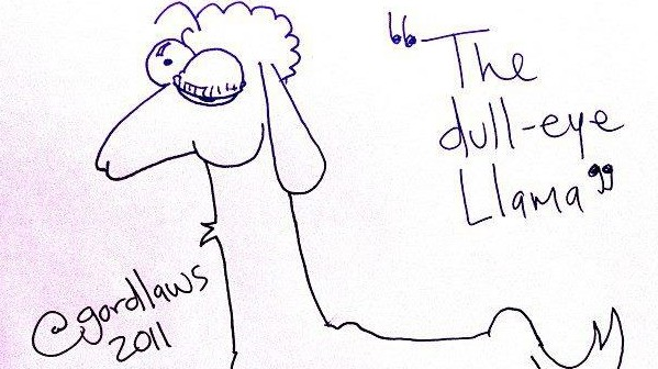 The Dull-Eye Llama by Gord Laws (2011)