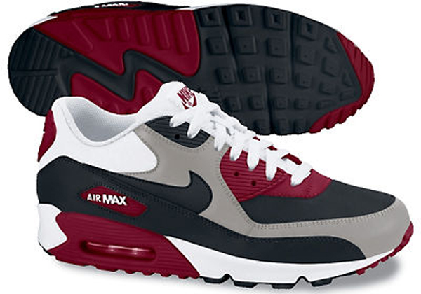 buy popular 38b4f 2d6a8 Nike Air Max 90 - maroon and red - Gord Laws | Concept ...