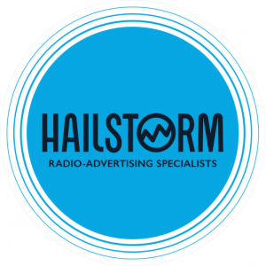 Logo of Hailstorm Radio-advertising Specialists