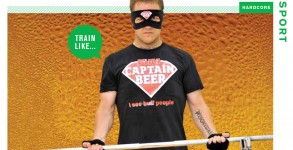 Gord Laws feature Article Train Like Captain Beer FHM May 2010