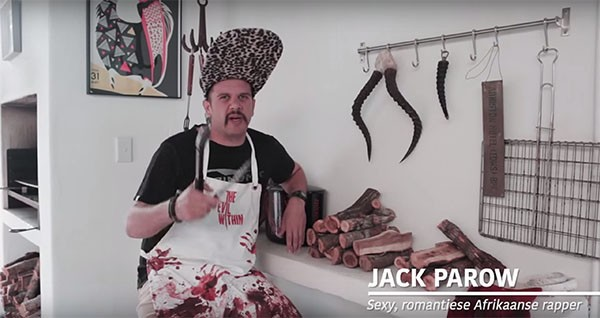 """Blitzboks, South Africa's #GotYourBack"" Good-luck Video (by HoneyKome)"