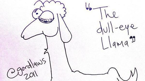 The Dull-Eye Llama by Gord Laws (2011)